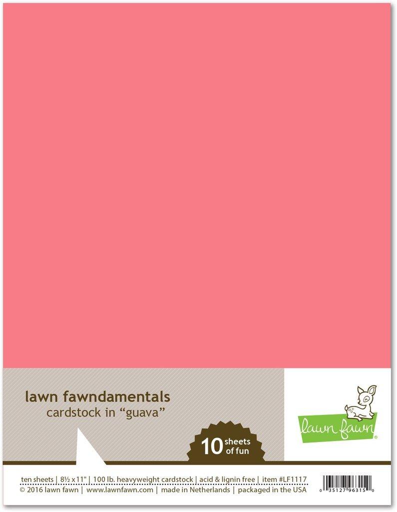 LF Cardstock - Guava (8.5 x 11 / 10 sheets)