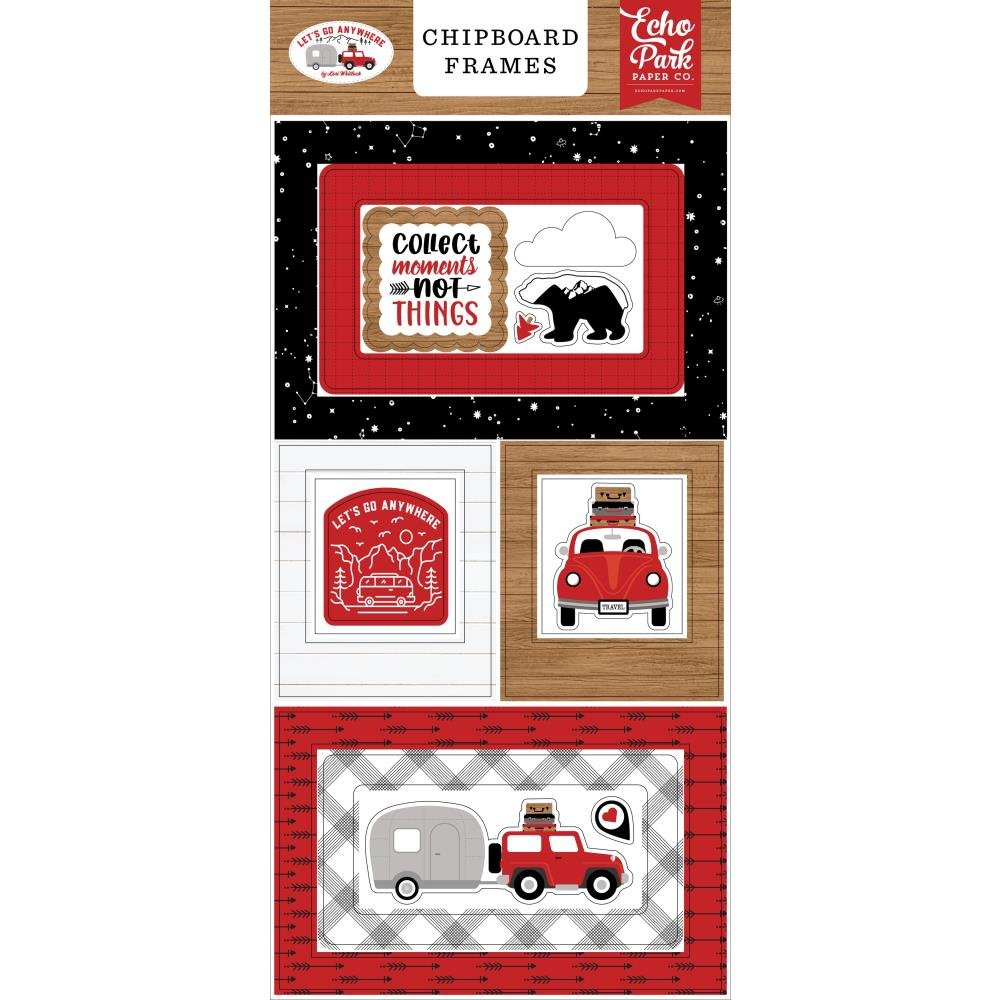 EP Let's Go Anywhere Chipboard Frames