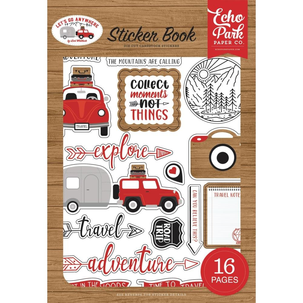 EP Let's Go Anywhere Sticker Book