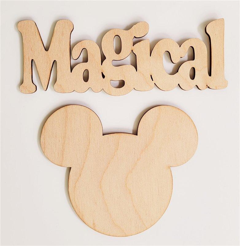 Clear Scraps Magical Mouse Shape (Frameables)