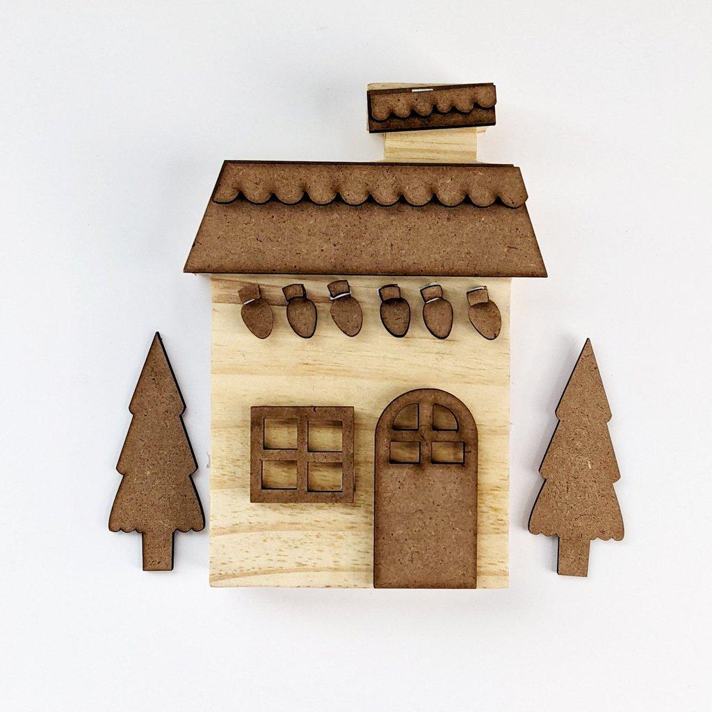 FD Medium Christmas House