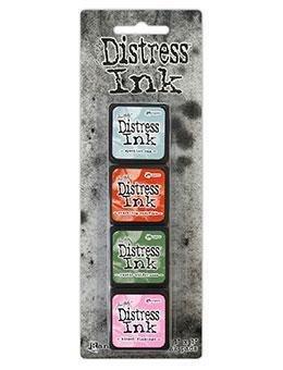Mini Distress Ink Kit 16