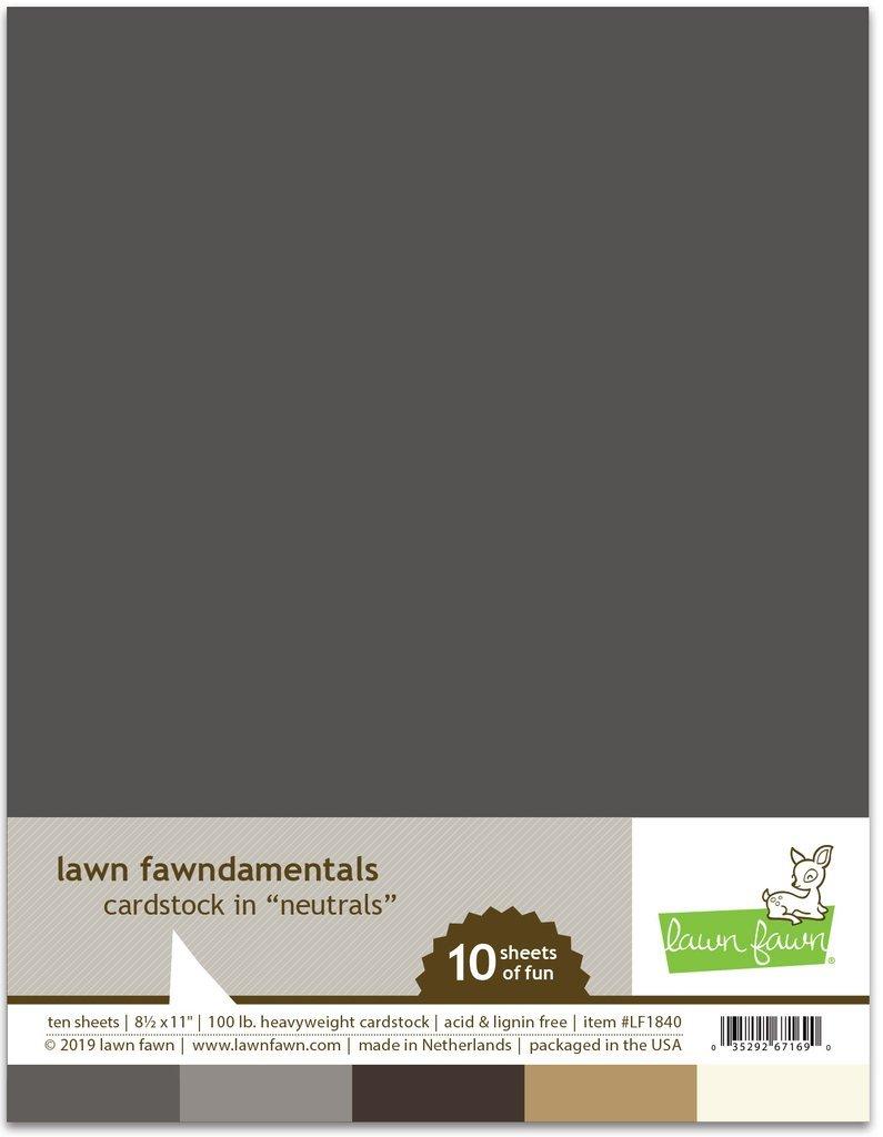 LF Cardstock Assortment - Neutrals (8.5 x 11 / 10 sheets)
