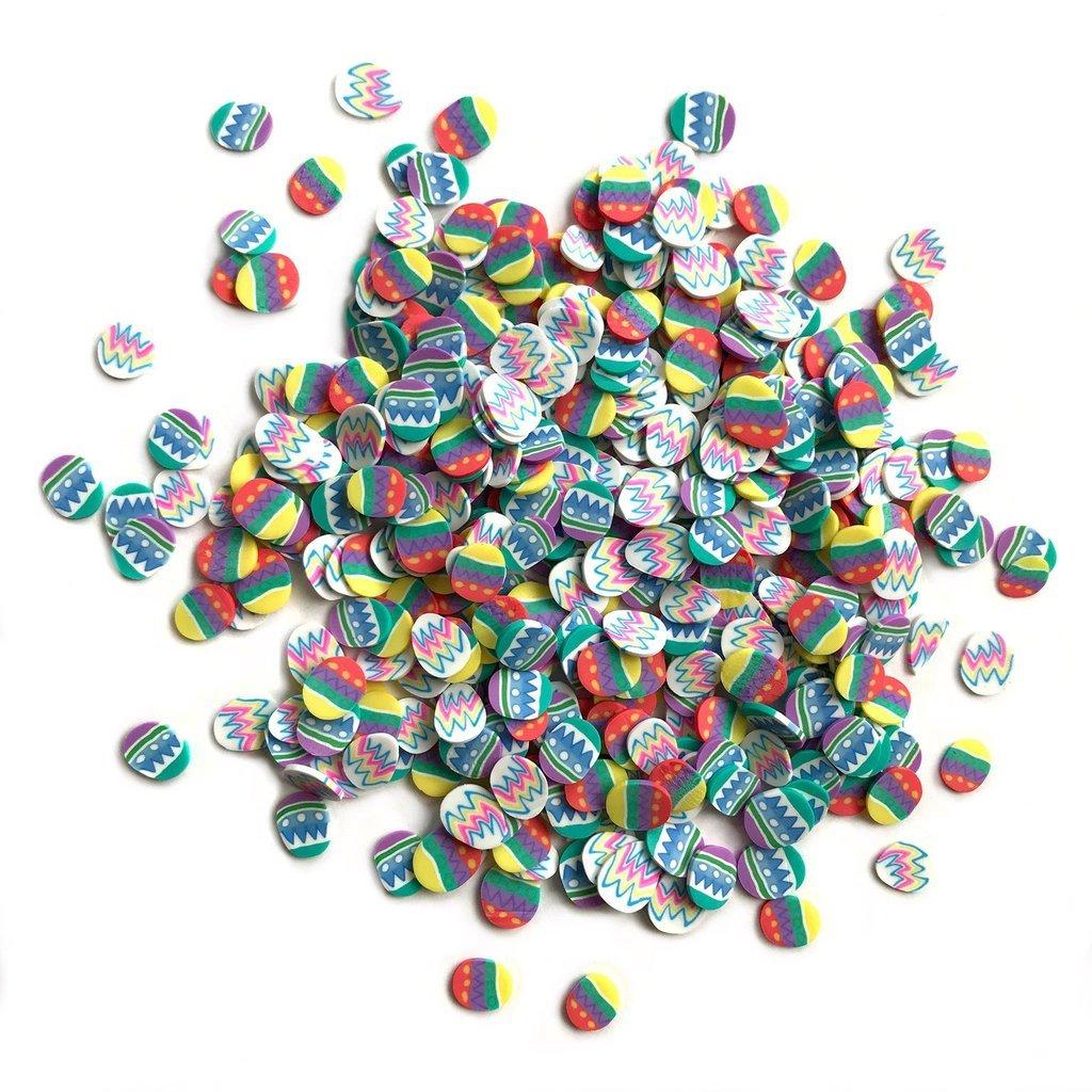 Buttons Galore Sprinkletz Easter Eggs