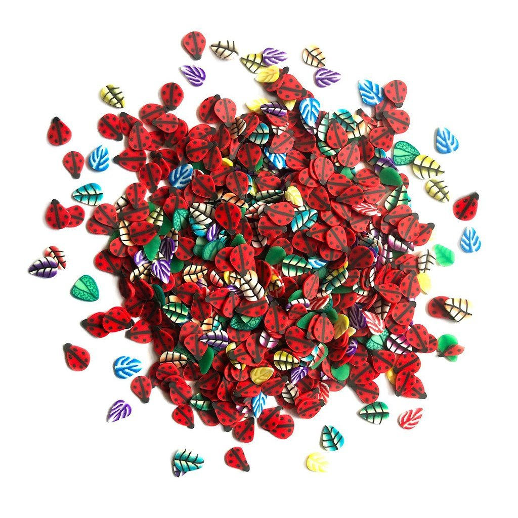 Buttons Galore Sprinkletz Ladybugs