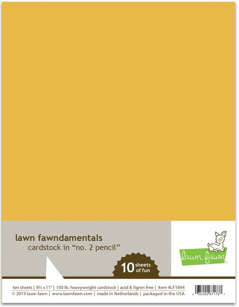 LF Cardstock - No. 2 Pencil (8.5 x 11 / 10 sheets)