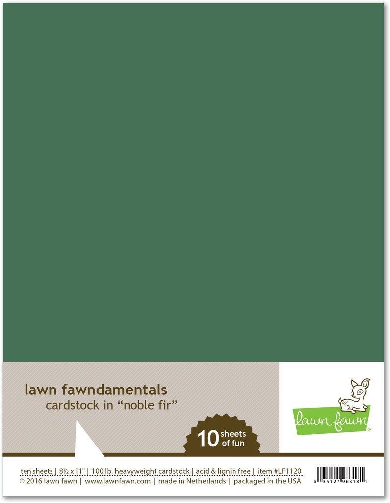 LF Cardstock - Noble Fir (8.5 x 11 / 10 sheets)