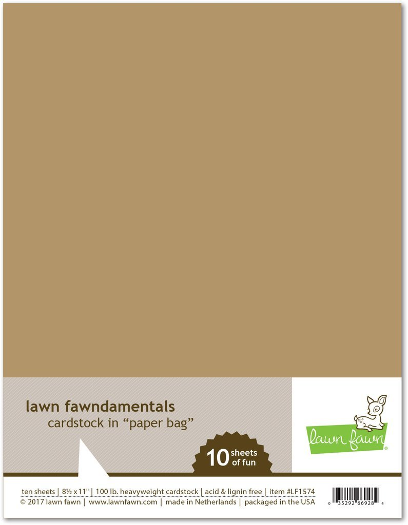 LF Cardstock - Paper Bag (8.5 x 11 / 10 sheets)
