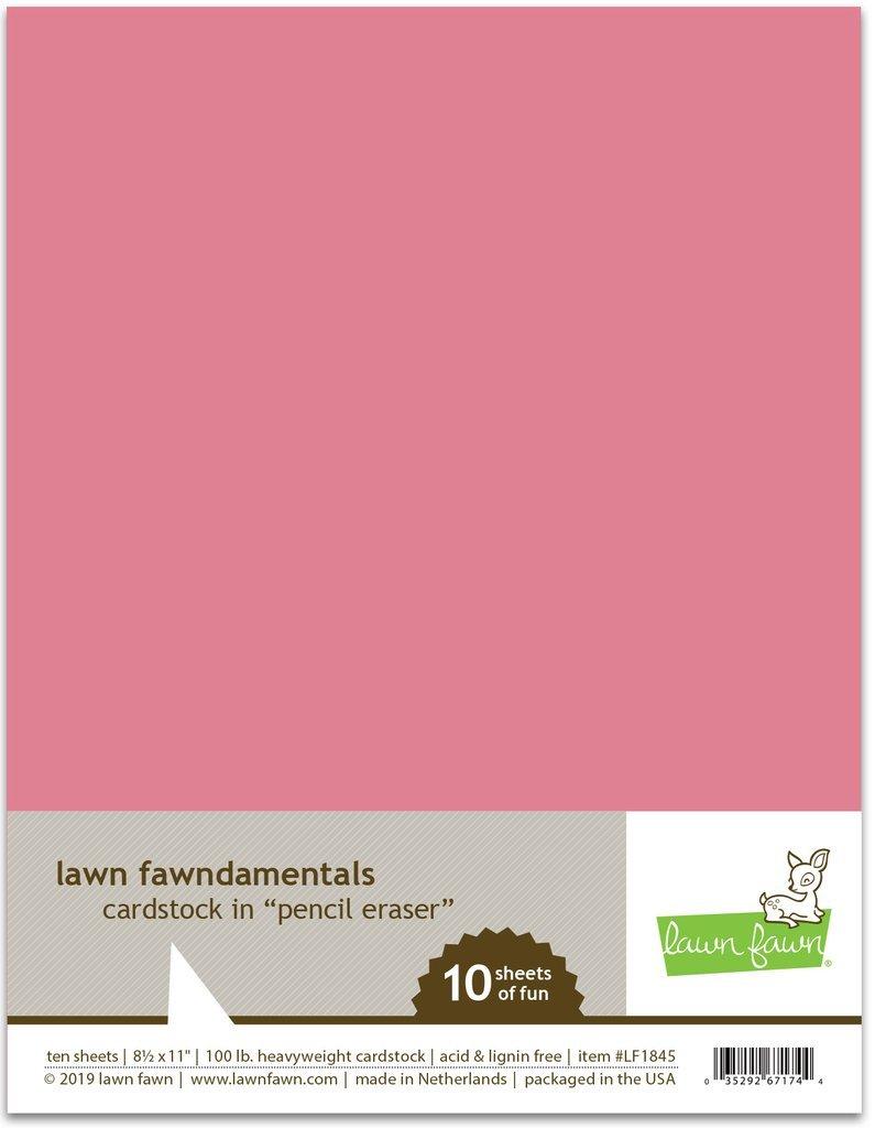 LF Cardstock - Pencil Eraser (8.5 x 11 / 10 sheets)