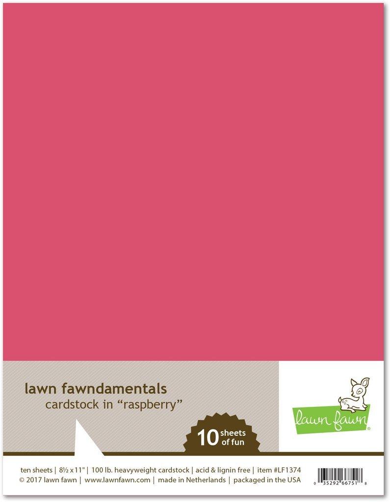 LF Cardstock - Raspberry (8.5 x 11 / 10 sheets)