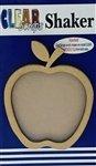 Clear Scraps Apple Shaker