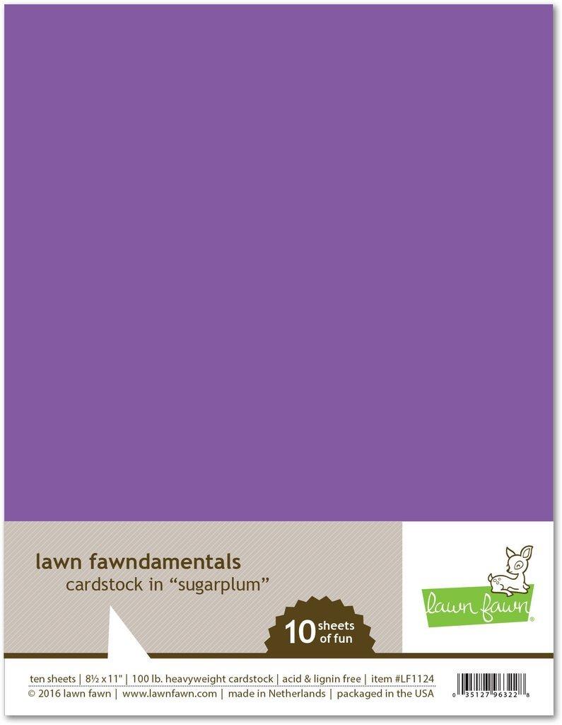 LF Cardstock - Sugar Plum (8.5 x 11 / 10 sheets)