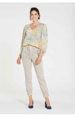 Long Sleeve, Paisley Boho