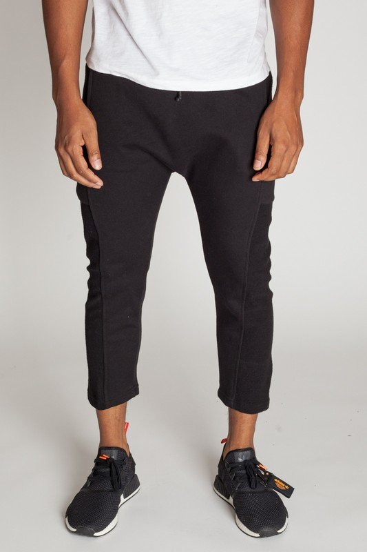 Cropped Slouch Sweats