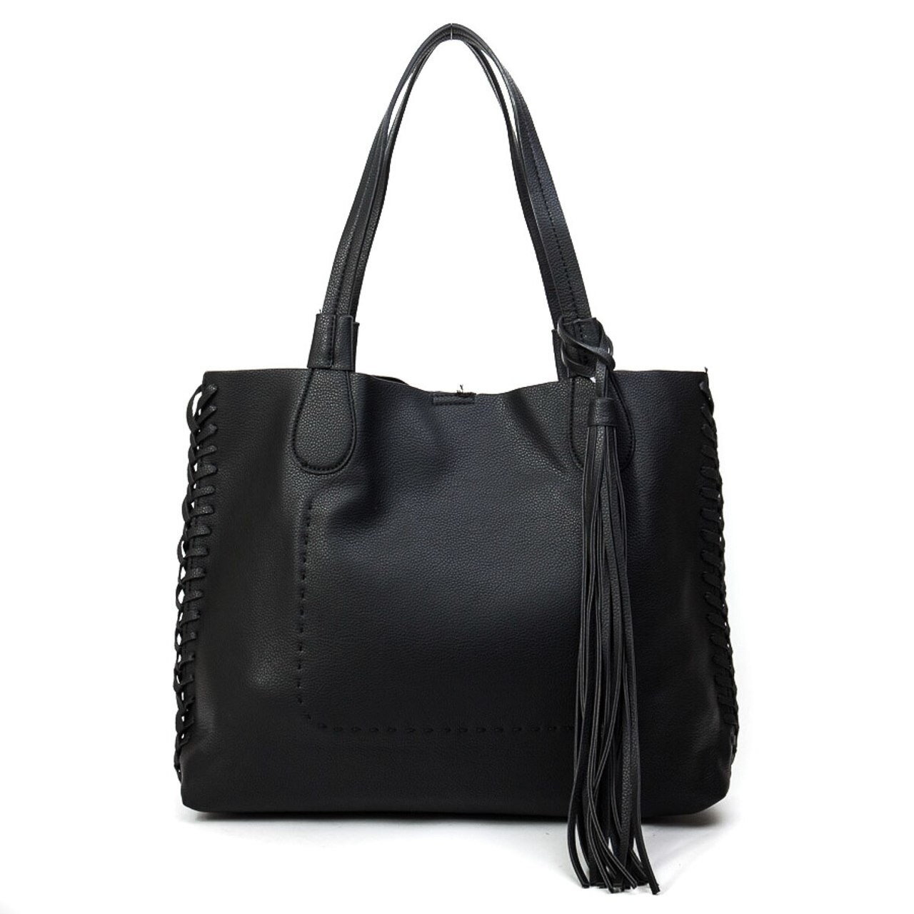 Macy Tassel Tote Whipstitch Two In One