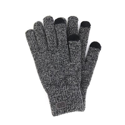 Men's Gloves w/ Texting Feature, Grey