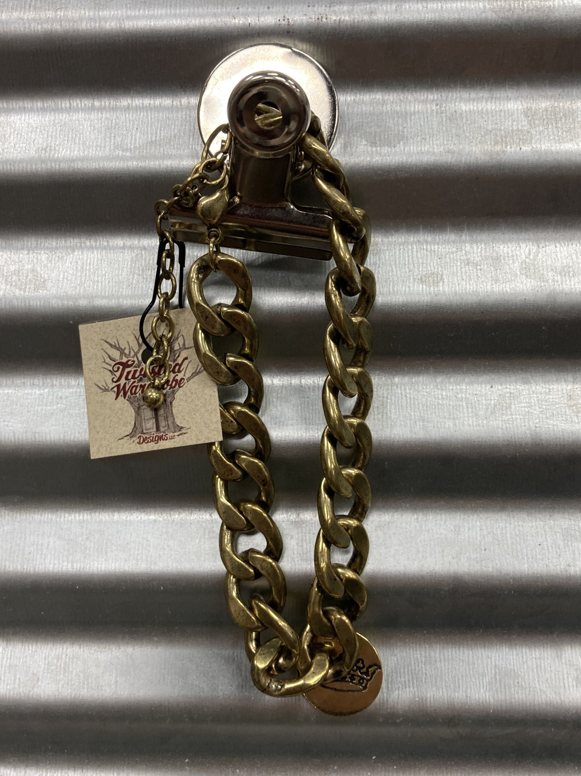 Gold Plated With Crown Charm