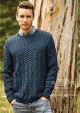 Cleckheaton Textured Pullover Pattern