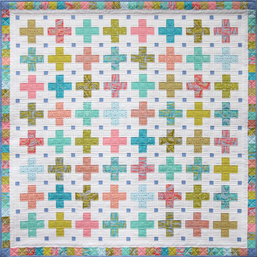 Little crosses quilt
