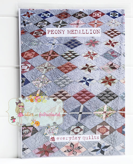 Everyday Quilts Peony Medallion