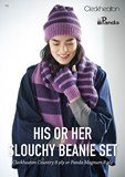 His or Her Slouchy Beanie Set