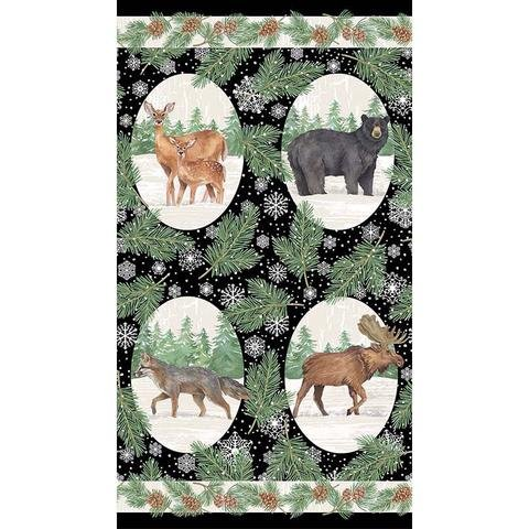 Frosted Forest - Oval Animals