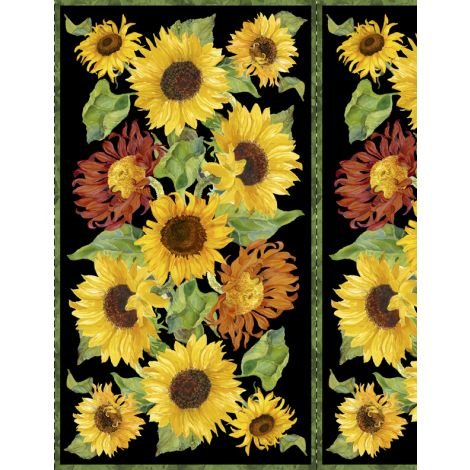 Flowers of the Sun Large Panel
