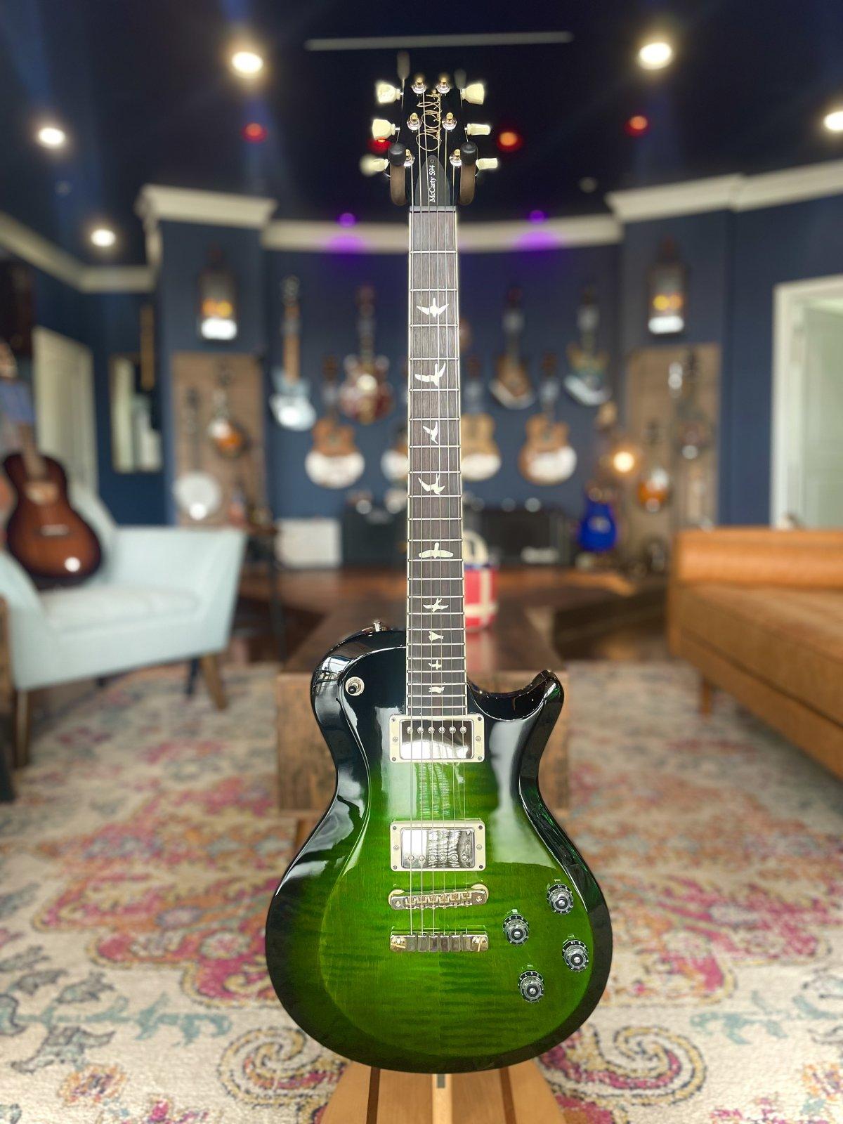 PRS S2 McCarty 594 Singlecut Electric Guitar - Eriza Verde Wrap