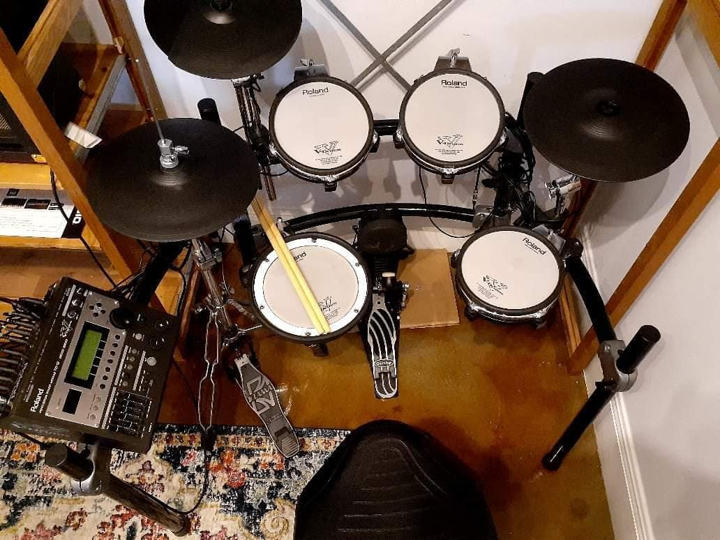 *used* Roland TD12 Electric Drum Set