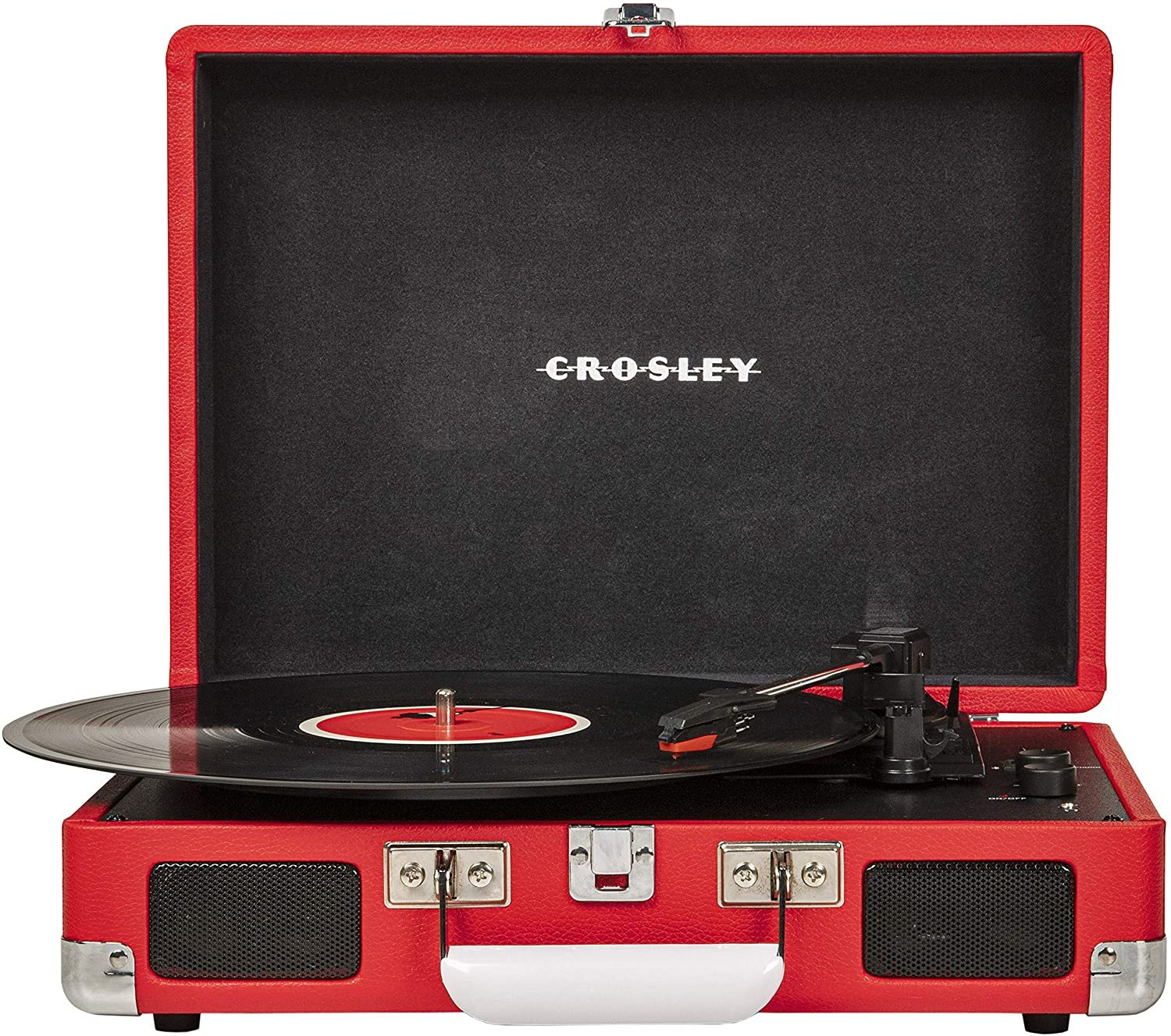 Crosley Cruiser Turntable With Bluetooth - Red