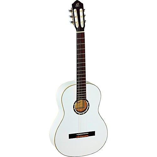 Ortega R121WH Family Series Full-Size Classical Guitar White