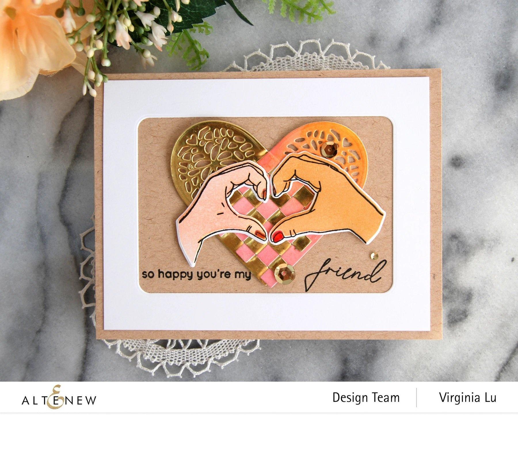 A Little Bit of Love Stamp Set
