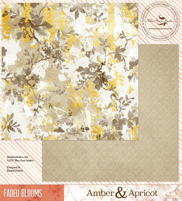 Amber & Apricot - Faded Blooms