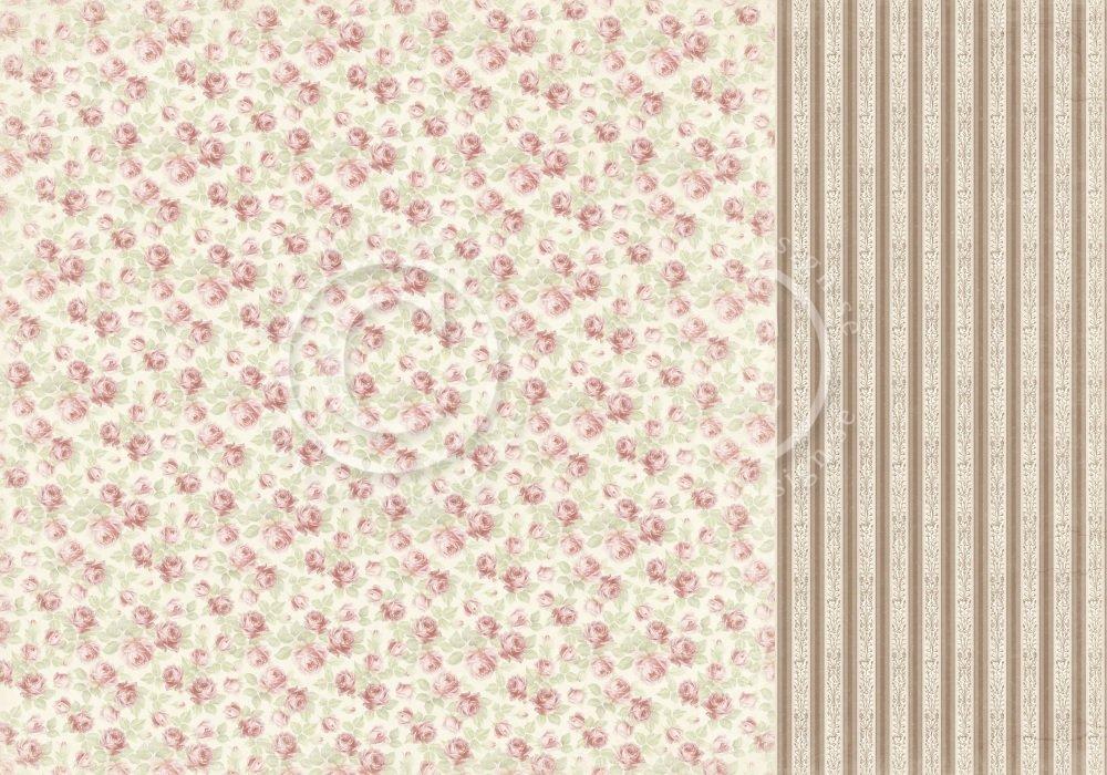 Cherry Blossom Lane - Bed of roses