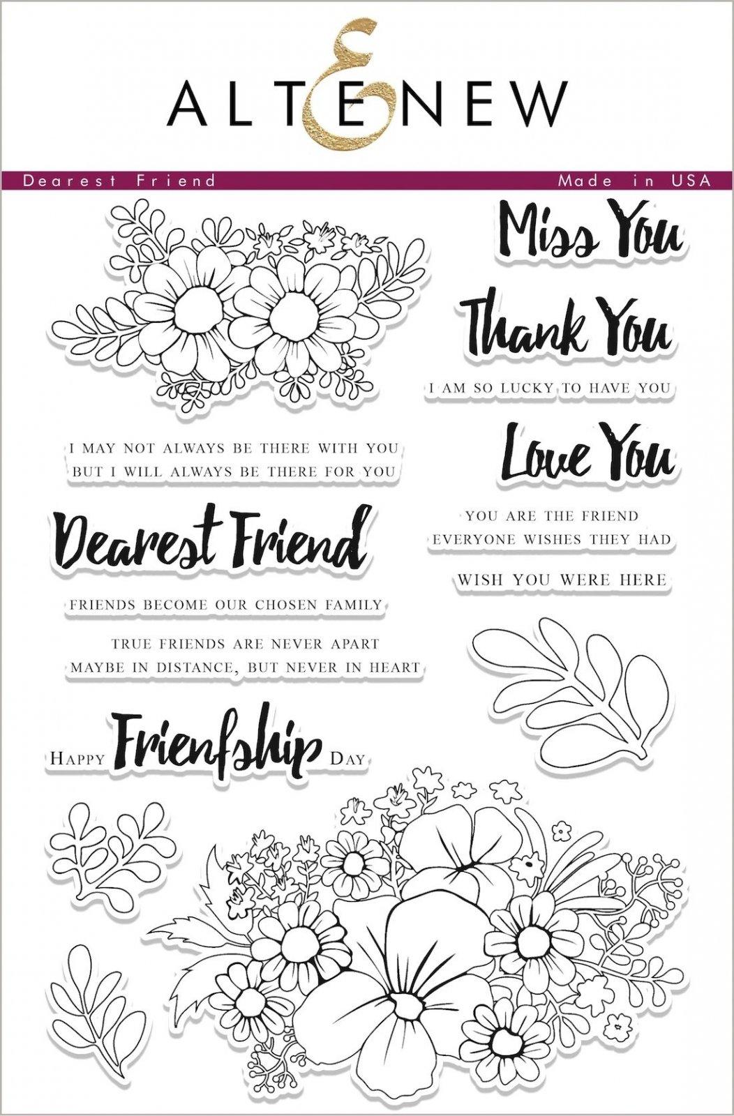 Dearest Friend Stamp Set