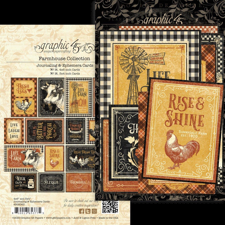 """16 16 Dreamland Ephemera Cards- 4/""""X6/"""" /& 3/""""X4/"""""""
