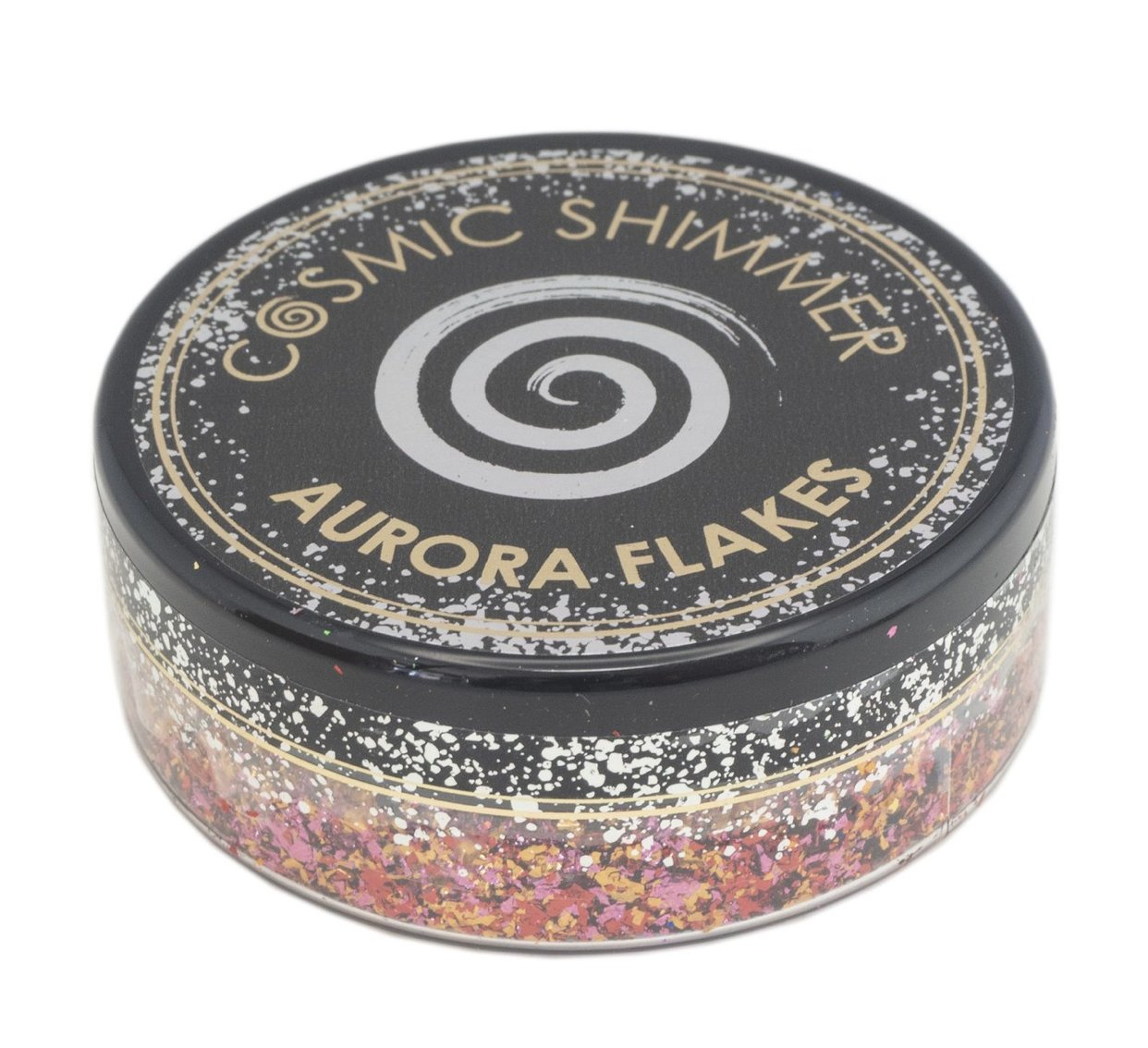 Aurora Flakes- Amber Glow