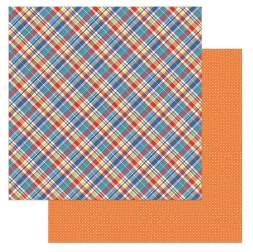 Living The Quarantine Life Double-Sided Cardstock 12X12- Plaid19