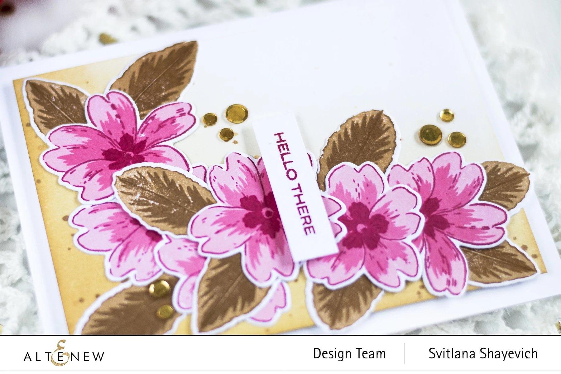 Build-A-Flower: Primrose Layering Stamp & Die Set
