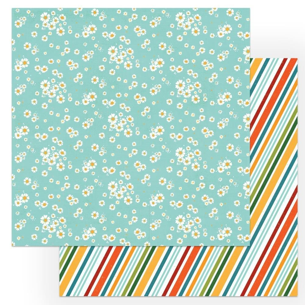 Cabin Fever Double-Sided Cardstock 12X12-Relax & Play