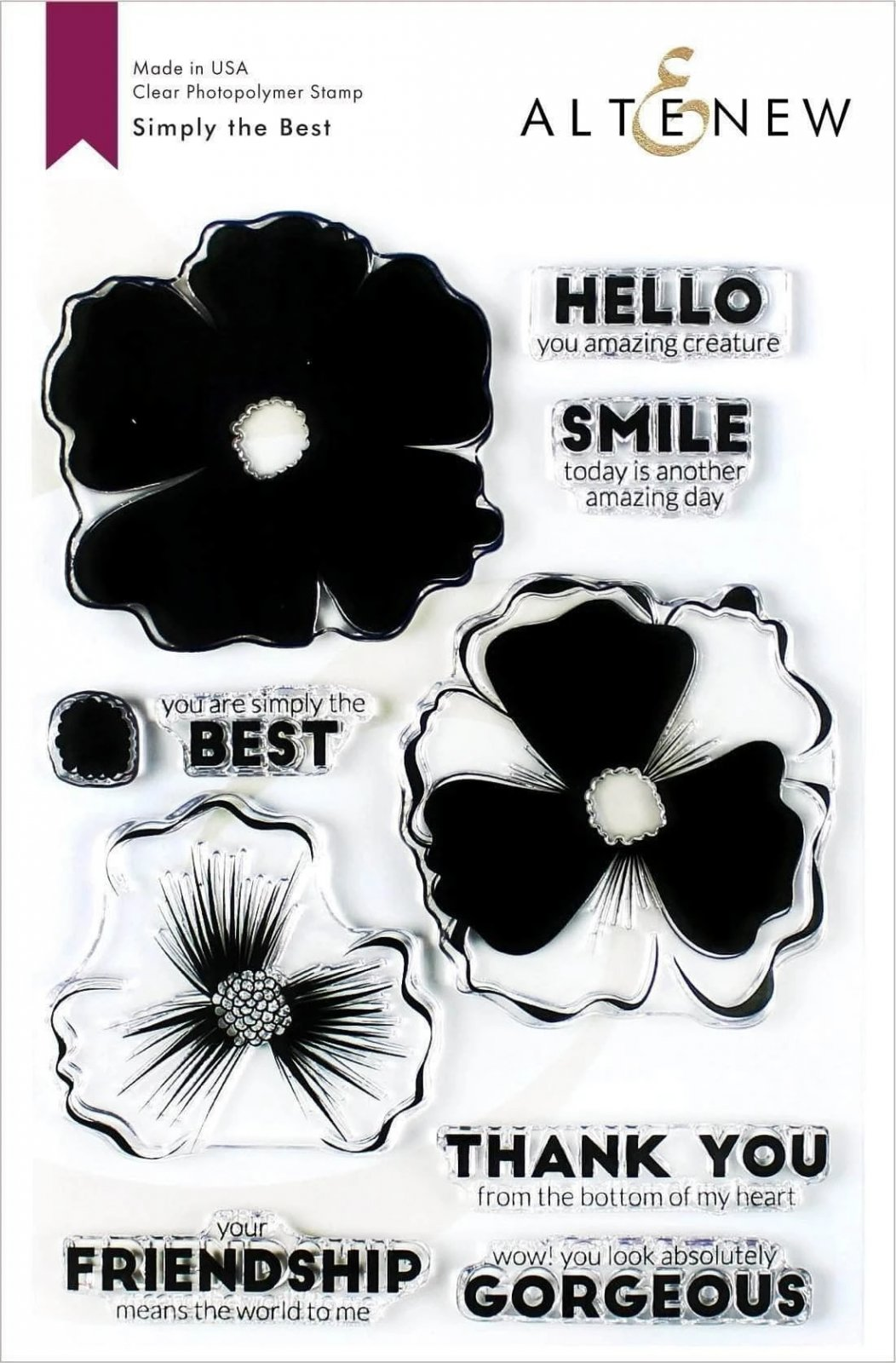 Simply the Best Stamp Set
