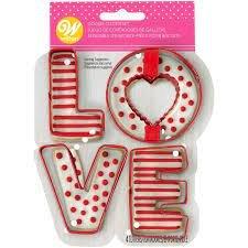 Love Cookie Cutter Set