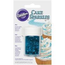 Cake Sparkles Blue