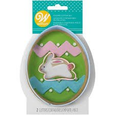 Egg & Bunny Cookie Cutter Set