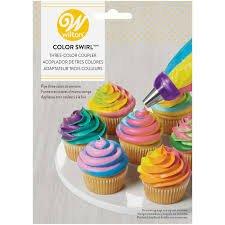 Wilton Colour Swirl Three Colour Coupler
