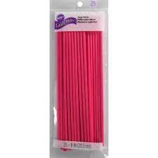 Treat Sticks Pink 8 inches