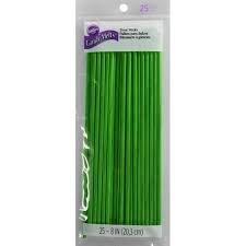 Treat Sticks Green 8 inch