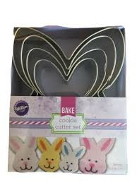 Nesting Bunny Cookie Cutter Set