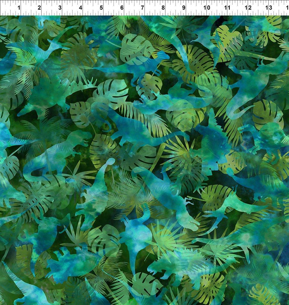 Jurassic - Dinosaur Jungle - Green