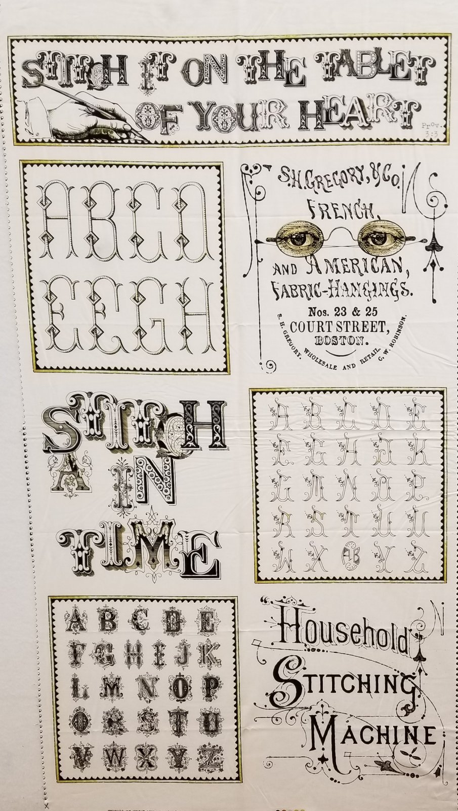 A Stitch in Time Panel